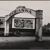 Entrance to Marianna, Arkansas, during the 1937 flood