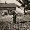 Farmer's wife near Gibbs City, Michigan.