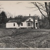 Good farmhouse optioned by Resettlement Administration 50 miles north of Ithaca, New York.
