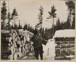 Loading pulpwood. Coos Co