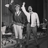 Rudy Vallee and Darryl Hickman in the stage production How to Succeed in Business