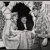 Karen Morrow, Buddy Hackett and Richard Kiley in the stage production I Had a Ball