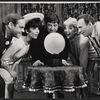 Luba Lisa, Buddy Hackett, Karen Morrow, Richard Kiley and unidentified in rehearsal for the stage production I Had a Ball