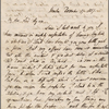 Autograph letter signed to Lord Byron, 17-18 December 1817