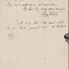 Autograph letter signed to W.T. Baxter, 25 December 1817