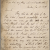Autograph letter signed to Charles Ollier, 15 January 1818