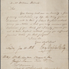 Affidavit signed, to William Willats, 31 January 1818