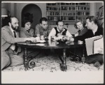 Murray Schisgal, Claire Nichtern, Alan Arkin, Eli Wallach, Anne Jackson and Mike Nichols in rehearsal for the Broadway production of Luv
