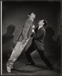 Gabriel Dell and Larry Blyden in a publicity pose for the Broadway production of Luv