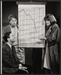 Larry Blyden, Gabriel Dell and Anne Jackson in the Broadway production of Luv