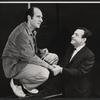 Herb Edelman and Tom Bosley from the touring company of the stage production Luv