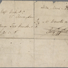 Autograph check signed to Brooks, Son and Dixon, 7 March 1818