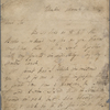 Autograph letter signed to Charles Ollier, 14 March 1817