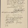 Letter to George Washington, Cambridge, Mass.