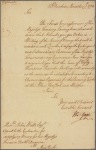 Letter to John Watts, agent to the contractors for supplying money for his Majesty's forces in North America, New York