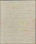 Letter to Charles Lee, Attorney General, Philadelphia