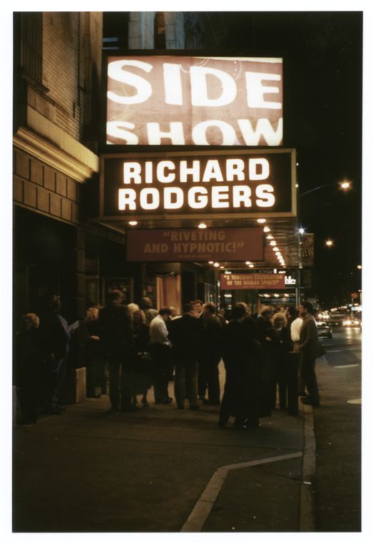 Side show (musical), (Krieger), Richard Rodgers Theatre (1997)