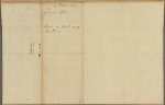 Letter to [William Denny] Governor of Pennsylvania