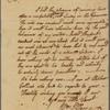 Letter to Henry Jackson, Providence