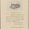 Letter to Caesar Rodney, President of Delaware
