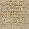 Letter to [Charles De Witt, Esophus, N. Y.]