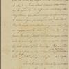 Letter to Gerrit De Witt, Green Kill [N. Y.]