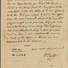 Letter to John Tabor Kempe, Attorney General [New York]