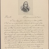 Letter to Robert Morris, Philadelphia