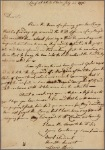 Letter to Gov. George Clinton, Poughkeepsie