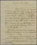 Letter to [Gov. George Clinton.]