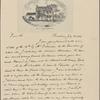 Letter to [François Barbé de] Marbois, Philadelphia