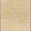 Letter to Elias Boudinot, Commissary of Prisoners, at Headquarters [Valley Forge, Penn.]