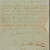 Letter to Ebenezer Elmer, Speaker of the General Assembly of New Jersey
