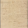 Letter to William Alexander, Lord Stirling