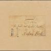 Letter to Caleb Smith, Nassau Hall [Princeton]