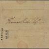 Letter to Thomas Riché