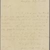 Letter to J[ohn] S[tuart] Skinner [Baltimore]