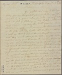 Letter to [Mrs. Elias Boudinot --her aunt Hannah--]