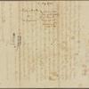 Letter to Gov. Thomas Mifflin