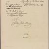 Letter to Capt. John Barry
