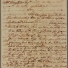 Letter to William Bingham, Martinico; per Capt. John Stevens