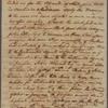 Letter to William Bingham, Martinico; per Capt. John Stevens
