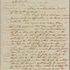 Letter to Henry Jackson [Boston?]
