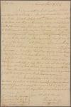 Letter to Mathew Irvine [Irwin?], Headquarters
