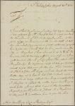 Letter to Caesar Rodney [Wilmington?]