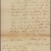 Letter to Capt. Richard Peters