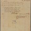 Letter to [Henry Laurens, Charleston?]