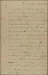 Letter to President [Joseph] Reed [Philadelphia]