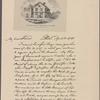 Letter to M. Le Veillard, Passy