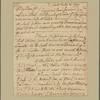 Letter to Cadwallader Colden, New York